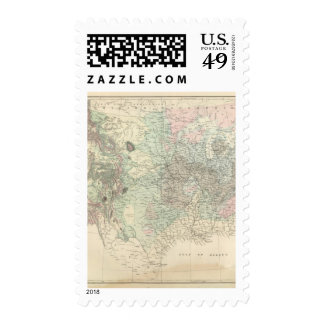 Geological Map of the United States Postage