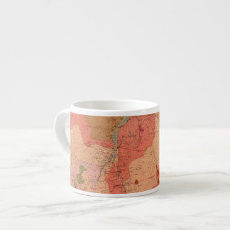 Geological Map of the Washoe District Espresso Cup