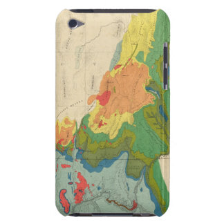 Geological Map Of The Western Part iPod Case-Mate Cases