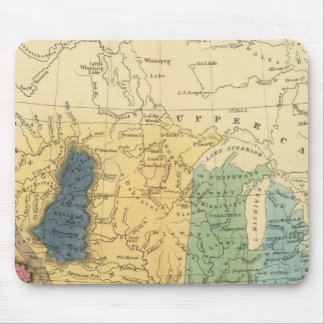 Geological map of United States Mouse Pad