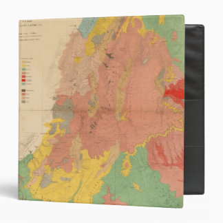 Geological map of Utah Binder