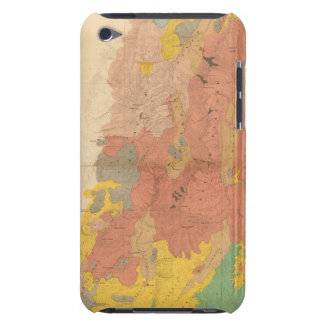 Geological map of Utah iPod Touch Case-Mate Case