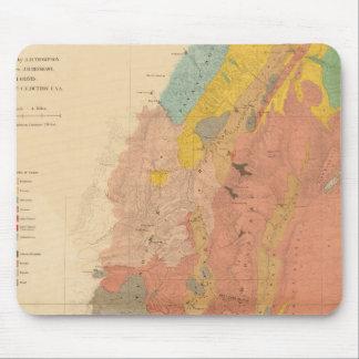 Geological map of Utah Mouse Pad