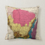 Geological map of Wisconsin Pillow