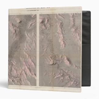 Geological Map Rio Colorado of the West 3 Ring Binder