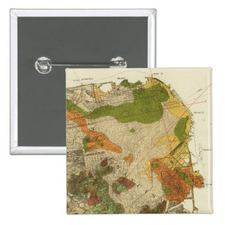 Geological map San Francisco Button