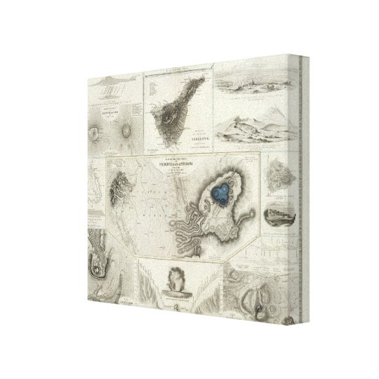 Geological phenomena canvas print