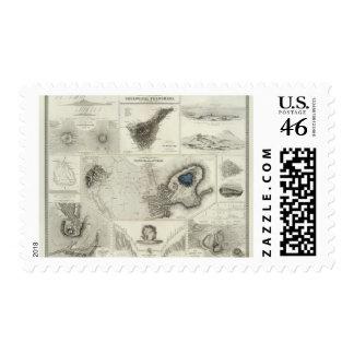 Geological phenomena postage