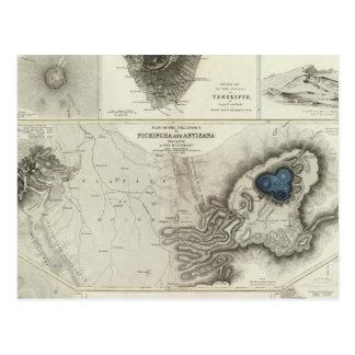 Geological phenomena post card