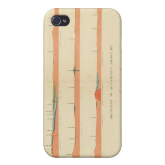 Geological Sections of the Eastern Colorado iPhone 4/4S Case