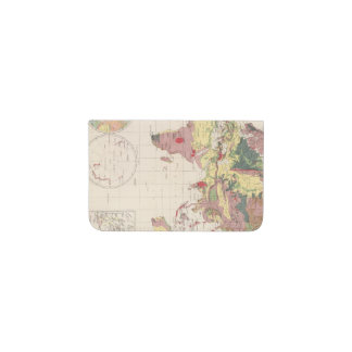 Geological structure of globe business card holder