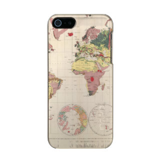Geological structure of globe incipio feather® shine iPhone 5 case
