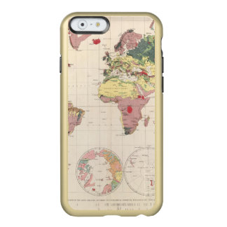 Geological structure of globe incipio feather® shine iPhone 6 case