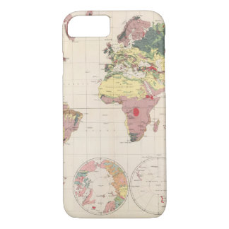 Geological structure of globe iPhone 7 case