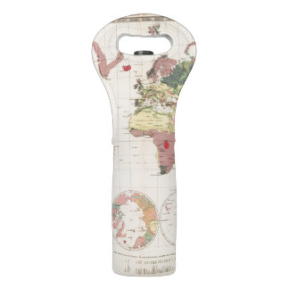 Geological structure of globe wine bags