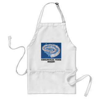 Geological Time Rocks! (Geological Age) Adult Apron