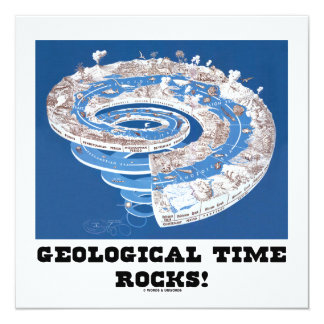 Geological Time Rocks! (Geological Age) Card