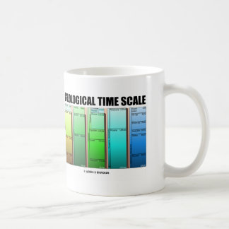 Geological Time Scale (Geological Age) Classic White Coffee Mug