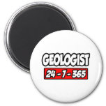 Geologist 24-7-365 magnets