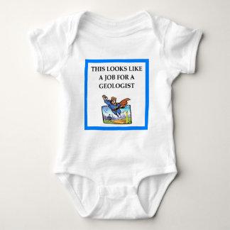 GEOLOGIST BABY BODYSUIT