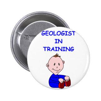 geologist baby 2 inch round button