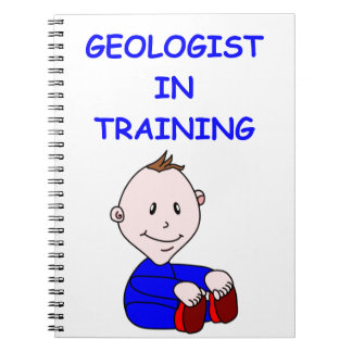 geologist baby notebooks