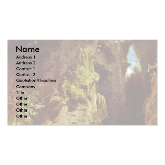 Geologist By Spitzweg Carl Business Card Templates