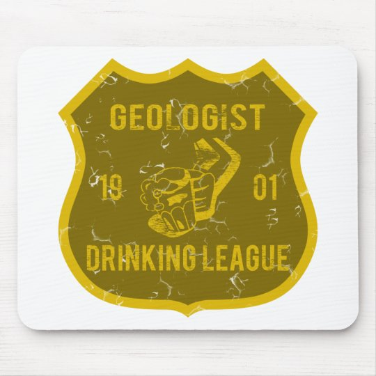 Geologist Drinking League Mouse Pad