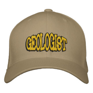 Geologist Embroidered Cap