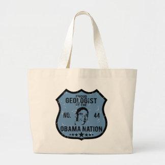 Geologist Obama Nation Large Tote Bag
