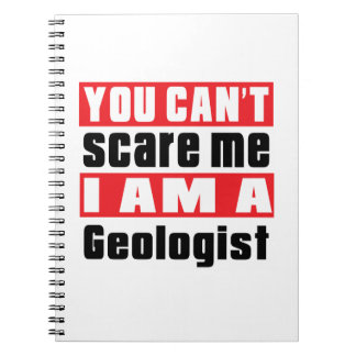 Geologist scare designs note books