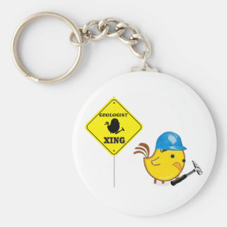 Geologist Xing Key Chains