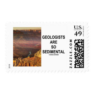 Geologists Are So Sedimental (Grand Canyon) Postage Stamp