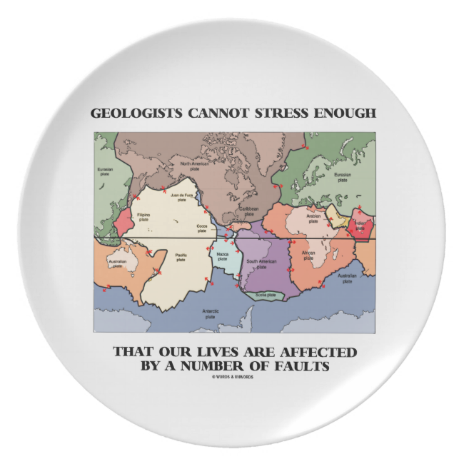 Geologists Cannot Stress Enough Our Lives Faults Plate