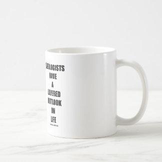 Geologists Have A Layered Outlook On Life (Humor) Coffee Mug