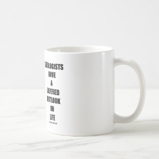 Geologists Have A Layered Outlook On Life (Humor) Mugs