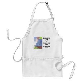 Geologists Love To Showcase Their Sediments Adult Apron