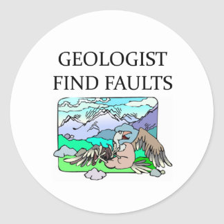 GEOLOGISTs Round Stickers