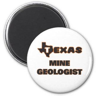 Geólogo de la mina de Tejas Imán Redondo 5 Cm