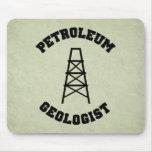 Geólogo de petróleo Mousepad Tapetes De Ratón