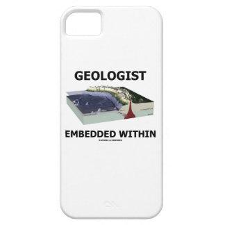 Geólogo encajado dentro zona de la subducción iPhone 5 protector