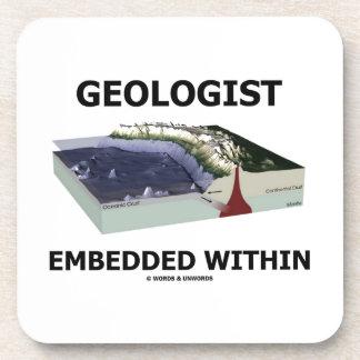 Geólogo encajado dentro (zona de la subducción) posavaso