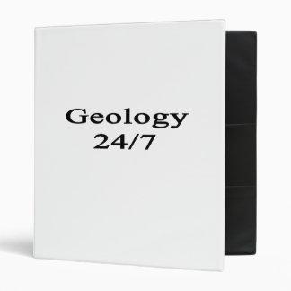 Geology 24/7 3 ring binder
