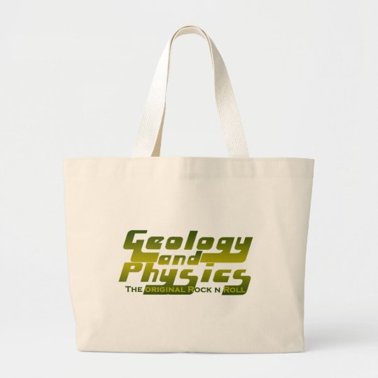Geology and Physics Large Tote Bag