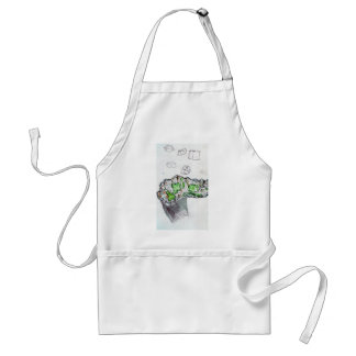 Geology Calling Geometry Adult Apron