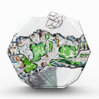 Geology Calling Geometry Acrylic Award
