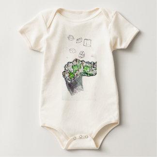 Geology Calling Geometry Baby Bodysuit