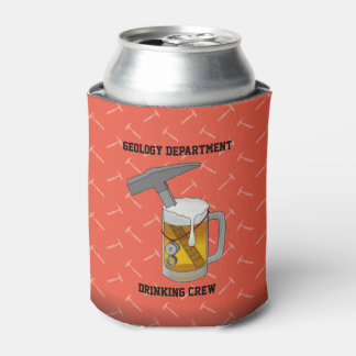 Geology Department Drinking Crew Can Cooler