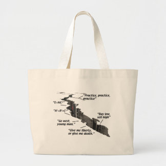 Geology - Earthquakes - Wisecracks Canvas Bag