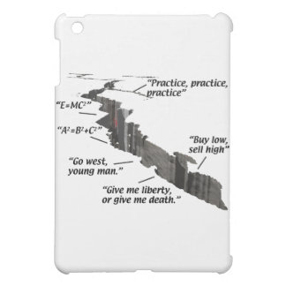Geology - Earthquakes - Wisecracks iPad Mini Case